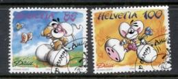 Switzerland 2004 Cartoons CTO - Switzerland