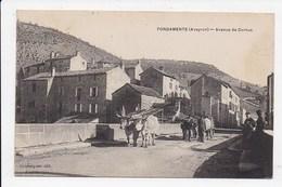 CPA 12 FONDAMENTE Avenue De Cornus - France
