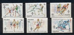 Poland 1984 Summer Olympics Los Angeles MUH - 1944-.... Republic