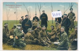 CPA -37104- Allemagne- Militaria - Gefangene Russen-Envoi Gratuit - Guerra 1914-18