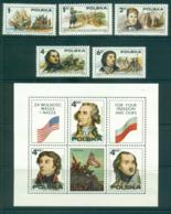 Poland 1975 American Revolution + Ms MUH Lot35668 - 1944-.... Republic