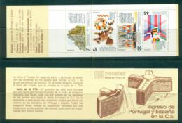 Spain 1986 Admission To EEC Booklet MUH Lot58783 - 1981-90 Unused Stamps