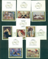 Poland 1969 Polish Paintings + Labels MUH Lot35537 - 1944-.... Republic
