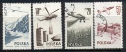 Poland 1976-78 Airmail FU - 1944-.... Republic