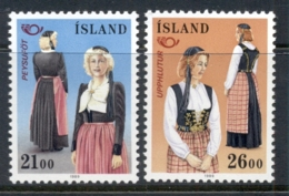Iceland 1989 Nordic Cooperation MUH - 1944-... Republic
