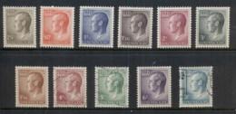 Luxembourg 1965-71 Grand Duke Jean (11/12, No 2.50f) FU - Unused Stamps