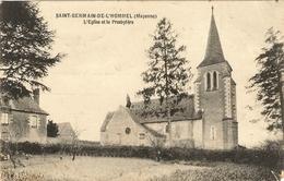 53 - SAINT GERMAIN De L HOMMEL - L'église Et Presbytère  31 - France