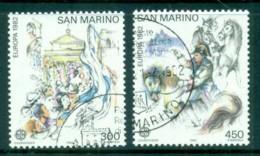 San Marino 1982 Europa CTO - Unused Stamps
