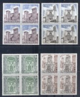 Spain 1979 Castles, Architecture Blk4 MUH - 1971-80 Unused Stamps