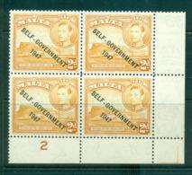 Malta 1948 2d Self-Government Opt PB #2 Blk 4 MLH Lot62183 - Malta