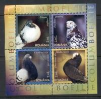 Romania 2005 Birds, Pigeons MS FU - 1948-.... Republics
