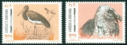SPAIN 1993 AMERICA-UPAEP, ENDANGERED FAUNA** (MNH) - 1931-Aujourd'hui: II. République - ....Juan Carlos I