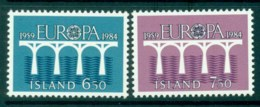 Iceland 1984 Europa MUH Lot32395 - 1944-... Republic