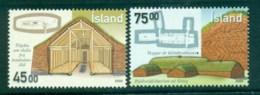 Iceland 2000 Anciant Architecture MUH Lot32472 - 1944-... Republic