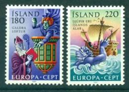 Iceland 1981 Europa MUH Lot32597 - 1944-... Republic