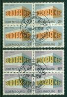 Luxembourg 1969 Europa Block 4 FDI VFU Lot17604 - Unused Stamps