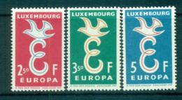 Luxembourg 1958 Europa, Bird & Ring MUH Lot65285 - Luxembourg