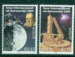 Malta 2009 Europa Astronomy MUH Lot23583 - Malta