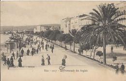 Carte Postale Ancienne De Nice La Promenade Des Anglais - Places, Squares