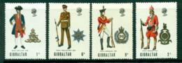 Gibraltar 1969 Military Uniforms MH Lot20668 - Gibraltar
