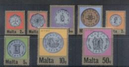 Malta 1971 Decimal Currency Coins MUH - Malta