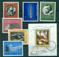 Romania 1975 Roman Monuments + MS MUH Lot58740 - 1948-.... Republics