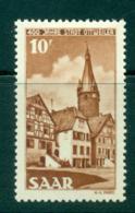 Saar 1950 Founding Of Ottweiler Anniv. MLH Lot38472 - 1947-56 Protectorate