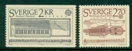 Sweden 1985 Europa Pair MUH Lot15914 - Unused Stamps