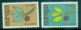 Iceland 1965 Europa, Leaves & Fruit MUH Lot65395 - 1944-... Republic
