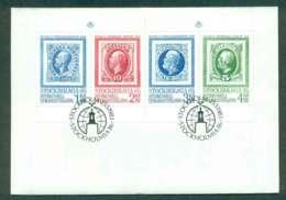 Sweden 1983 STOCKHOLMIA Stamp Ex Booklet Pane FDC Lot51677 - Unused Stamps