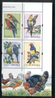 Poland 2004 Birds Blk4 MUH - Unused Stamps