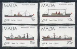 Malta 1986 Ships MUH - Malta