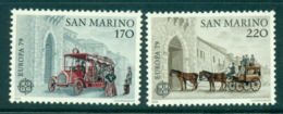 San Marino 1979 Europa MLH Lot40198 - Unused Stamps