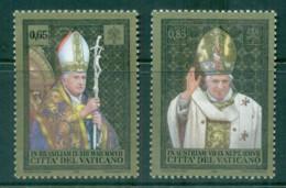 Vatican 2008 Travels Of Pope Benedict XVI MUH - Ongebruikt