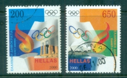 Greece 2000 Summer Olympics, Sydney-Athens FU - Greece