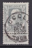 N° 78 UCCLE - 1905 Breiter Bart