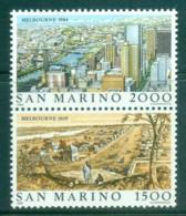 San Marino 1984 Stamp Exhibition, London MUH - Unused Stamps