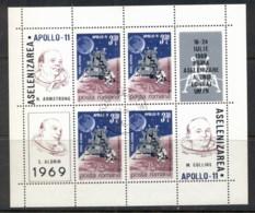 Romania 1969 Apollo 11 Space Mission MS CTO - 1948-.... Republics