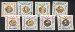 Romania 1960 Summer Olympics Rome IMPERF CTO - 1948-.... Republics