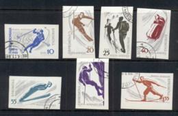 Romania 1961 Winter Sports IMPERF CTO - 1948-.... Republics