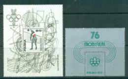 Poland 1976 Montreal Olympics 2x MS MUH Lot57472 - 1944-.... Republic