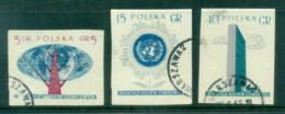 Poland 1957 UN IMPERF CTO - 1944-.... Republic