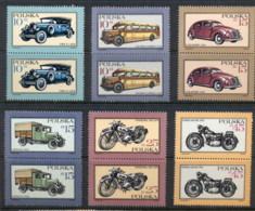 Poland 1987 Motor Vehicles Pr MUH - 1944-.... Republic