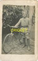 Guerre 14-18, Carte Photo D'un Poilu Cycliste Du 106ème - Guerre 1914-18