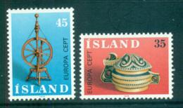 Iceland 1976 Europa, Pottery MUH Lot65635 - 1944-... Republic