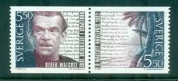 Sweden 1992 Derek Walcott, Nobel Laureate Pr MUH Lot84170 - Sweden