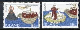 Iceland 1994 Europa, Voyage Of St Brendan MUH - 1944-... Republic