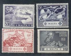 Malta 1949 UPU 75th Anniv MUH - Malta