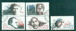 Sweden 1986 Nobel Peace Prize Laureates FU Lot84105 - Unused Stamps