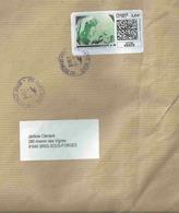 Montimbrenligne Entreprise _ Affranchissement Par Internet - Globe Terrestre - Lettre Verte De 250g - Enveloppe Entière - France